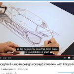 ランボルギーニ・ウラカンのデザインモチーフは「折り紙」。デザイン責任者が語る