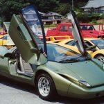 ランボルギーニのコンセプトカー、「Lamborghini SOGNA(1991)」