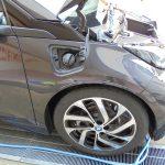 BMW i3洗車第一回。洗車がてら、細部をじっくり観察してみる