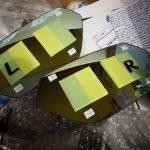 ランボルギーニ・ウラカンにワンオフのワイドドアミラーを装着してみた