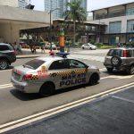 フィリピン・マニラの街中の画像など(ショッピングセンター、パトカーなど)