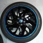 BMW i3のホイールペイント完了。後はコーティングと装着