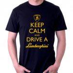 けっこうある、ランボルギーニ(中にはパロディ)Tシャツ。ebayにて