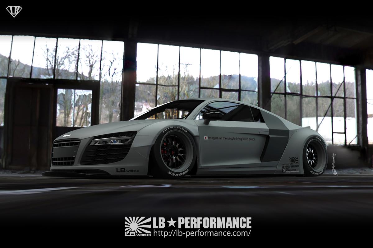 Audi-R80-Liberty-Walk-1