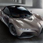 これがヤマハのスポーツカー「スポーツライド・コンセプト」。重量750kg、全高わずか1170ミリ