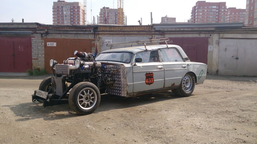 Russian Hot Rod VAZ 2106 1