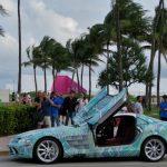 マイアミにて、いかにもマイアミっぽいメルセデスSLRマクラーレンが目撃された件