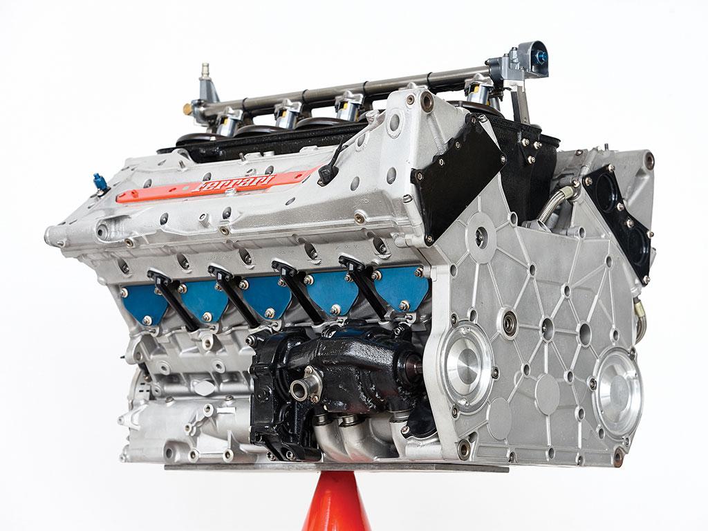 フェラーリ F1 エンジン オークション