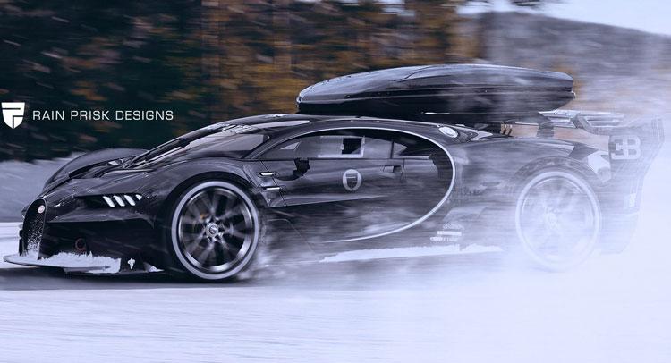 bugatti-chiron-roof-box-snow-