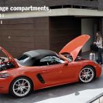 ポルシェが718ボクスターの機能解説動画を公開。走りから実用性まで