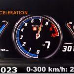 ランボルギーニ・ウラカンが時速345キロまで加速する動画。アヴェンタドールは348キロ、R8は340キロ