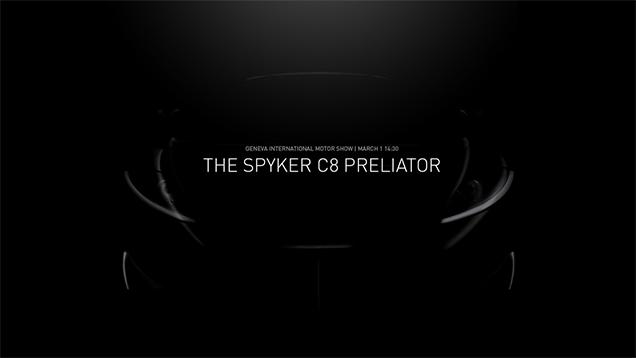 C8 Preliator Spyker スパイカー