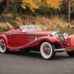 1937年製のメルセデス・ベンツ540Kが開始価格の倍、12億円で落札される