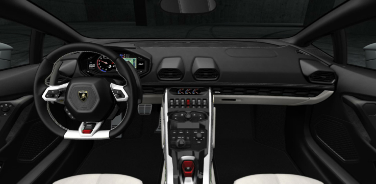 Lamborghini Huracan ランボルギーニ ウラカン 内装 塗装 interior paint