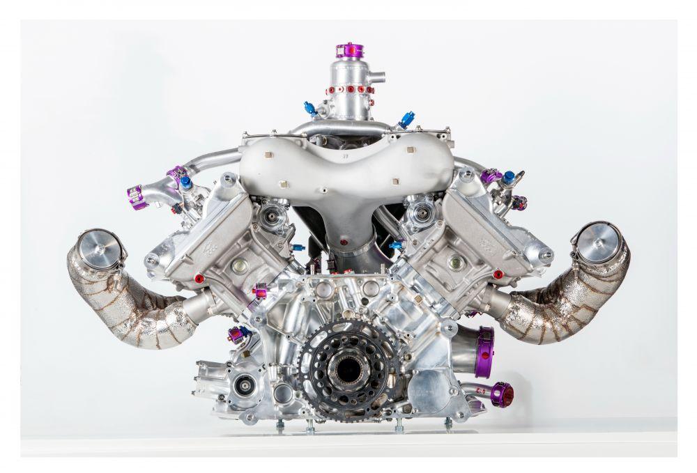 Porsche 919 engine