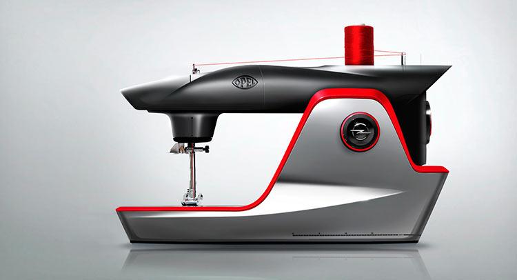 Opel-Visionaere-Naehmaschine