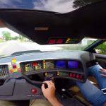 実際のナイト2000はこんなに運転しにくいぞ。ナイトライダーに乗ってみた動画