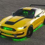 戦闘機モチーフのフォード・マスタング(ワンオフモデル)が競売に。3200万円で落札