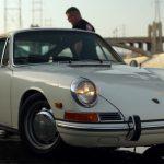 4気筒エンジンを搭載したポルシェ912。911の廉価版とはいえども魅力は満載