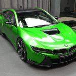 【まとめ】グリーン、イエロー、パープルなど。BMWアブダビによるi8のカスタム