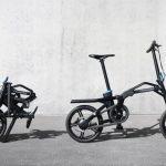 プジョーが新型SUV、5008のトランクにドッキングと充電が可能な電動バイク「eF01」発表