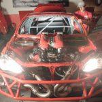 完成の近づくフェラーリ458+トヨタ86=「4586」。エンジンが搭載完了(動画あり)