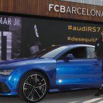 アウディがFCバルセロナの選手に車を貸与。メッシはQ7、ネイマールはRS7を選択