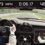 2017シボレー・カマロZL1がニュルを7:29で周回。ポルシェ・カレラGTのわずか1秒遅れ(証拠動画あり)