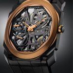 ブルガリが新作腕時計「オクト フィニッシモ スケルトン」発表。スケルトンダイアル採用でセレブ感満点
