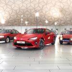 欧州トヨタがスポーツカーの系譜を画像で公開。2000GTから86まで
