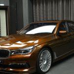 BMWアブダビがブラウンの洒落たアルピナB7を展示。ところでアルピナって?