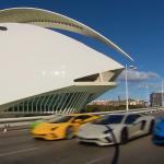 ランボルギーニ・アヴェンタドールSのメディア向け試乗会開催。動画が続々公開に