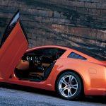 こんなコンセプトカーもあった。マスタング×ジウジアーロ(2009)
