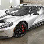 フォードがGT向けの軽量オプションを公開。チタンやカーボンを使用し、軽量ガラスに交換