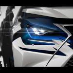 レクサスが新型NXを上海モーターショーに出展。詳細は4/19に公開