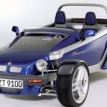 こんなコンセプトカーもあった。バイクと車の融合、BMW「 Z21 Just 4/2」