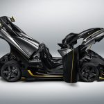 ケーニグセグが新たなワンオフモデル公開。ハイパワー+ゴールドアクセントの「グリフォン」