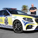 オーストラリア警察がメルセデスAMG E43をパトカーに。ハイパフォーマンスカー軍団結成