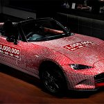 マツダ・ロードスター100万台達成記念車凱旋帰国!5月はイベントに参加後、本社に展示
