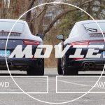 RRと4WDはこれだけ違う。911カレラと911カレラ4(991.2)との差異を解説した動画が登場