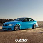 BMW M3をポルシェ純正色へペイント。さらには排気系やブレーキにも手を入れてカスタム