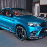 BMWアブダビがX6をカスタム。3DデザインのエアロにACシュニッツァーのペイントホイール