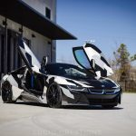 BMW i8×ヨン・オルソン・カモ。なかなかイケてるラッピングカスタムが公開に