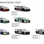 アウディがニュルブルクリンク24時間に「史上最大規模」の台数で参加。R8 LMS GT4がメイン