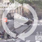 ミッション・インポッシブル6の撮影がパリで。トム・クルーズがスタント無しで車やバイクのアクションに挑む