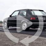1233馬力のゴルフ続報。ハルデックス4WDにレース用トランスミッション装備、最高時速350キロ