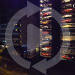 シンガポールにて、60台が収容可能なガラス張りの「自動販売機式」スーパーカー駐車場が完成