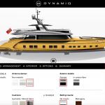 ポルシェデザインのボートがコンフィギュレーター対応。ベース価格は15億円から