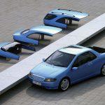 こんなコンセプトカーもあった。メルセデス・ベンツ・バリオリサーチカー(マジ)