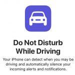 iOS11には「ドライブモード」装備。運転中にはiphoneの画面に一切表示がなされないように